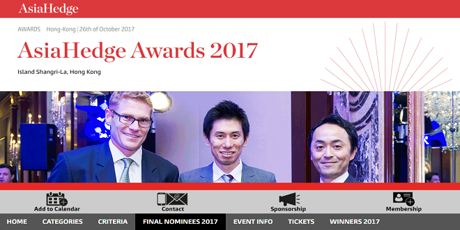 AsiaHedge Awards 2017